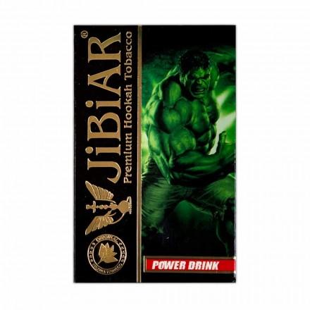 Табак Jibiar Power Drink 50 грамм (маракуйя грейпфрут апельсин лёд)