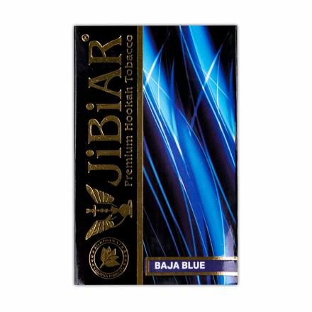 Табак JIBIAR Baja Blue 50 грамм (сладкая черника с мятой)