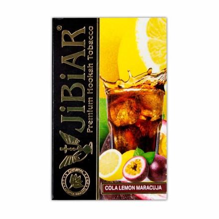 Табак Jibiar Cola Lemon Maracuja 50 грамм (кола лимон маракуйя)