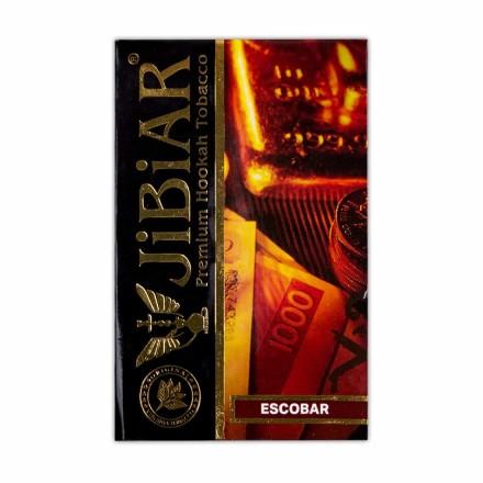 Табак JIBIAR Escobar 50 грамм (маракуйя персик апельсин лёд)