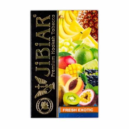 Табак Jibiar Fresh Exotık 50 грамм (маракуйя манго личи лёд)