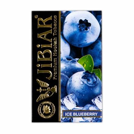 Табак Jibiar Ice Blueberry 50 грамм (лёд черника)