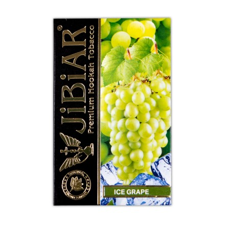 Табак Jibiar Ice Grape 50 грамм (виноград лёд)