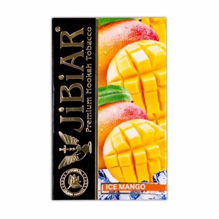 Табак Jibiar Ice Mango 50 грамм (манго лёд)