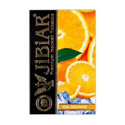 Табак Jibiar Ice Orange 50 грамм (лёд апельсин)