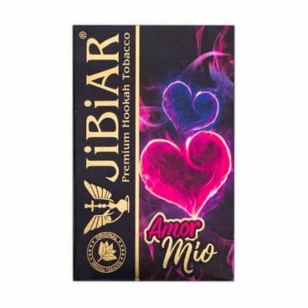 Табак Jibiar Amour Mio 50 грамм (ананас банан ментол)