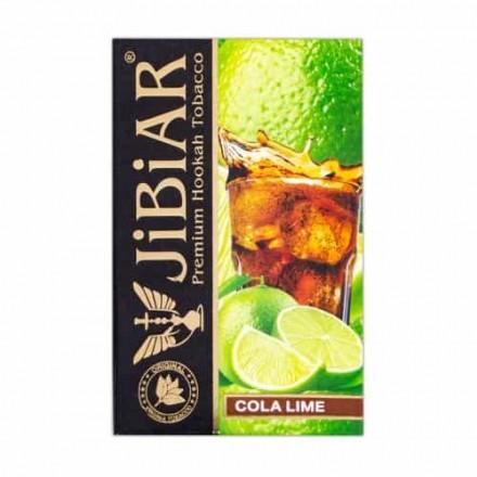 Табак Jibiar Cola Lime 50 грамм (кола лайм)