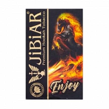 Табак Jibiar Enjoy 50 грамм (клубника сливки мята)