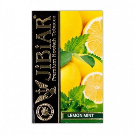 Табак Jibiar Lemon Mint 50 грамм (лимон мята)