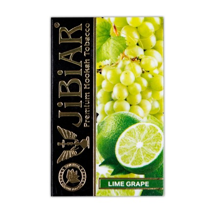 Табак Jibiar Lime Grape 50 грамм (лайм виноград)