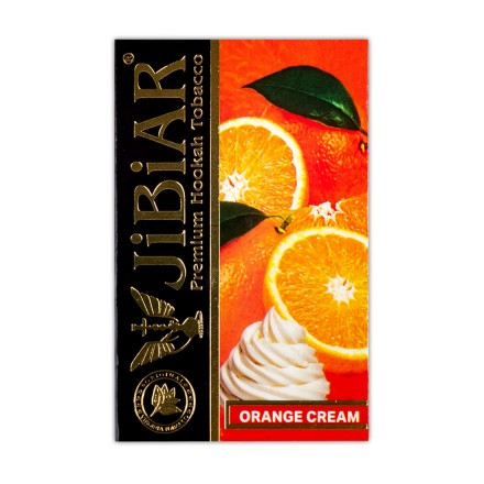 Табак Jibiar Orange Cream 50 грамм (апельсиновое мороженное)