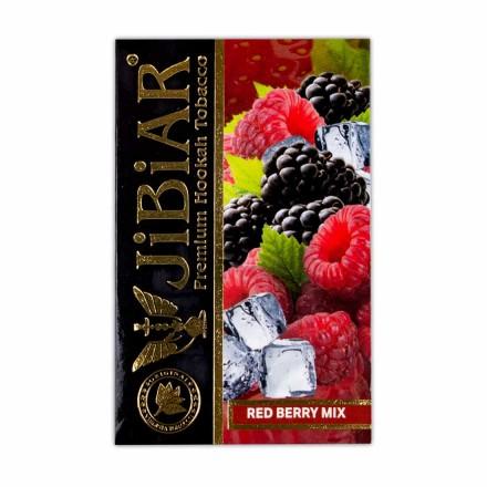 Табак Jibiar Red Berry Mıx 50 грамм (земляника клюква красная смородина малина)
