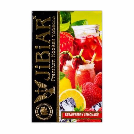 Табак Jibiar Strawberry Lemonade 50 грамм (клубничный лимонад)