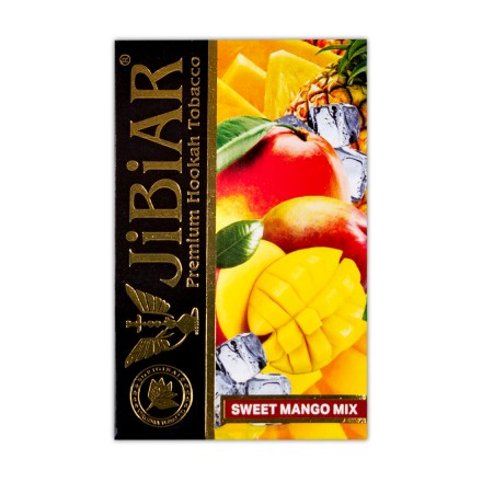 Табак Jibiar Sweet Mango Mix 50 грамм (лёд манго ананас)