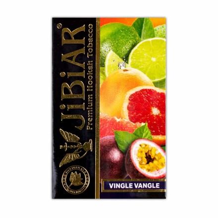 Табак Jibiar Vingle Vangle 50 грамм (апельсин лайм грейпфрут маракуйя)