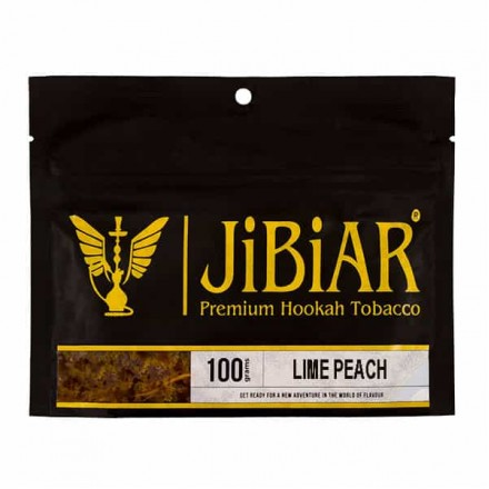 Табак JIBIAR Lime Peach 100 грамм (Лайм Персик)