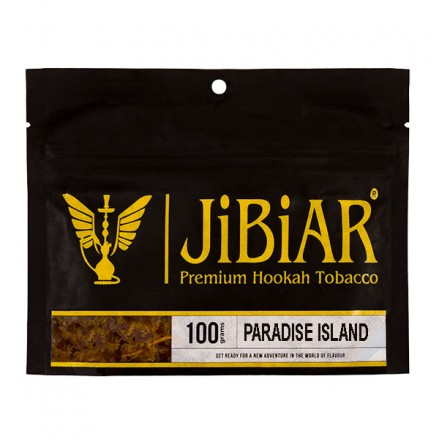Табак JIBIAR Paradise Island 100 грамм (Арбуз Ваниль Дыня Манго)