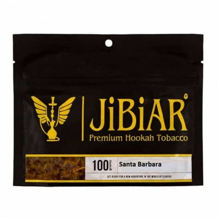 Табак JIBIAR Santa Barbara 100 грамм (Ментол Персик Голубика)