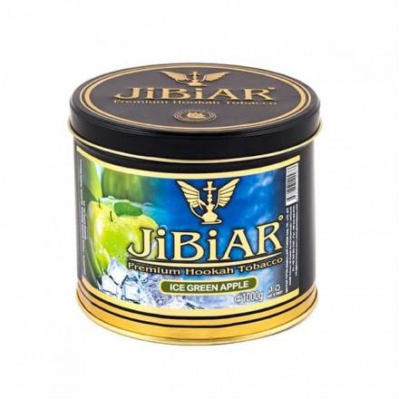 Табак JIBIAR Ice Green Apple 1 кг (Ледяное Зеленое Яблоко)