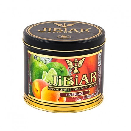 Табак JIBIAR Lime Peach 1 кг (Лайм Персик)