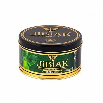 Табак Jibiar Green Mint 500 грамм (свежая мята)