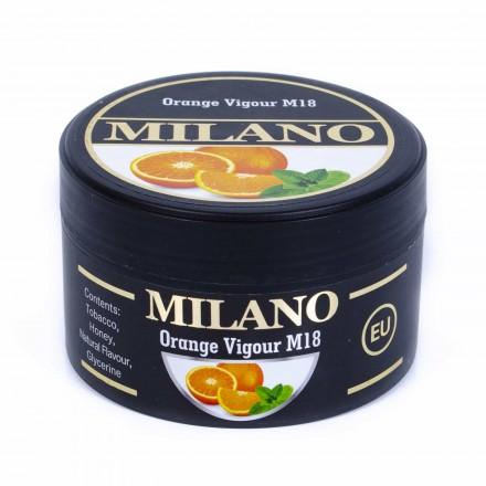 Табак Milano Orange Vigour M18 100 грамм (апельсин с мятой)