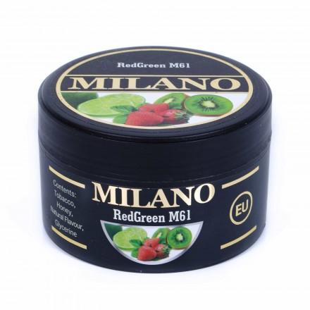Табак Milano Red Green M61 100 грамм (лайм клубника киви)