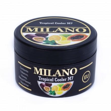 Табак Milano Tropical Cooler M7 100 грамм (лимон мята манго маракуя)