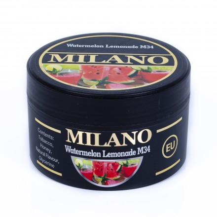 Табак Milano Watermelon Lemonade M34 100 грамм (арбузный лимонад)
