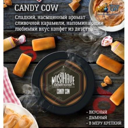 Табак Must Have Candy Cow 25 грамм (конфета золотой ключик)