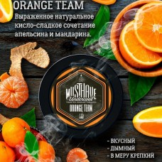 Табак Must Have Orange Team 25 грамм (кисло-сладкий апельсин с мандарином)