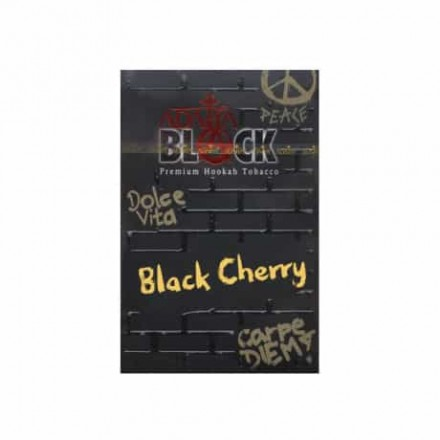 Табак ADALYA BLACK Cherry 50 грамм (вишня)