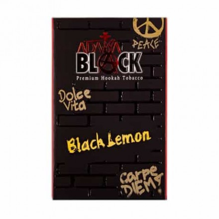 ADALYA BLACK Lemon 50 гр (лимон)