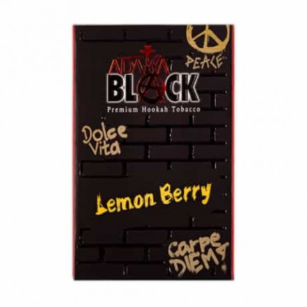 ADALYA BLACK ЯГОДА И ЛИМОН (lemon berry 50 ГРАММ)