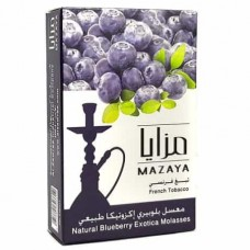ТАБАК MAZAYA ЧЕРНИКА (blueberry exotica 50 ГРАММ)