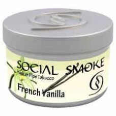 Табак Social Smoke — ФРАНЦУЗКАЯ ВАНИЛЬ (french vanilla 50 ГРАММ)