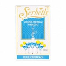 Табак Serbetli Blue Curacao 50 грамм (цитрус с нотками свежести)