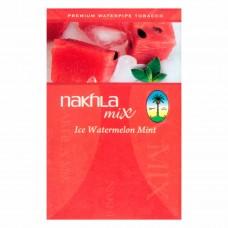 Табак Nakhla Mix Ice Watermelon Mint 50 грамм (ледяной арбуз с мятой)