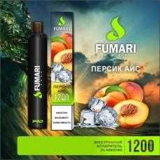 Одноразки Fumari 1200 затяжек (персик айс)