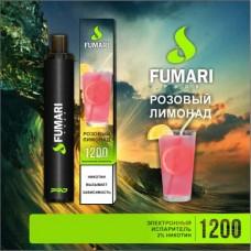 Одноразки Fumari 1200 затяжек (розовый лимонад)