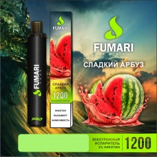 Одноразки Fumari 1200 затяжек (сладкий арбуз)