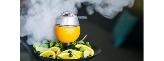 Как сделать кальян на лимоне