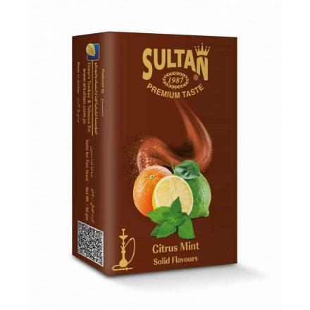 Табак Sultan Citrus Mint 50 грамм (цитрус мята)