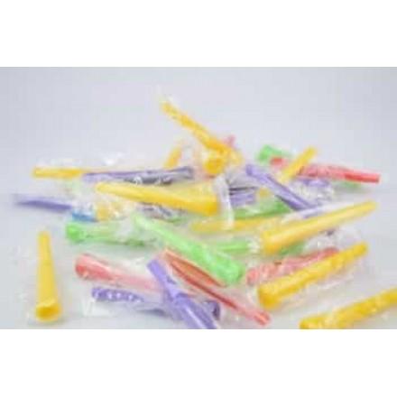 Мундштуки одноразовые конусные цветные XXL 50 штук