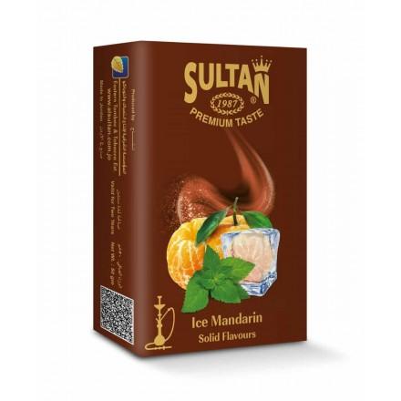Табак Sultan Ice Mandarin 50 грамм (ледяной мандарин)