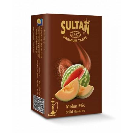 Табак Sultan Melon Mix 50 грамм (арбуз с дыней)