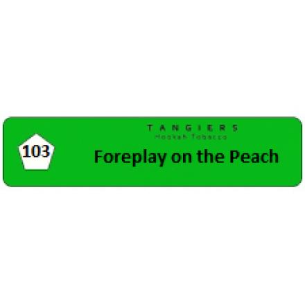 Табак Tangiers #103 Birquq Foreplay on the Peach 100 грамм (вкус сочного персика с нотками дыни)