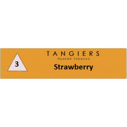 Табак Tangiers #3 Noir Strawberry 100 грамм (клубника)