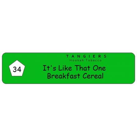 Табак Tangiers #34 Birquq Its Like That One Breakfast Cereal 100 грамм (хлопья с фруктами)