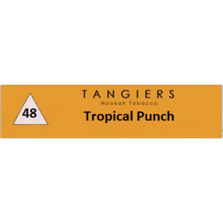 Табак Tangiers #48 Noir Tropical Punch 100 грамм (тропический пунш фрукты с ароматом кокоса)